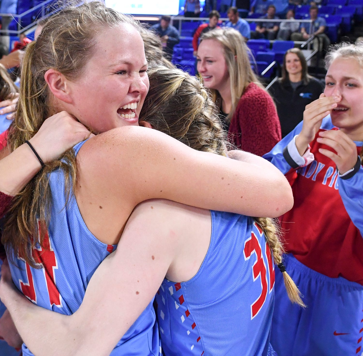 Team approach sends Gibson County girls basketball to third state title