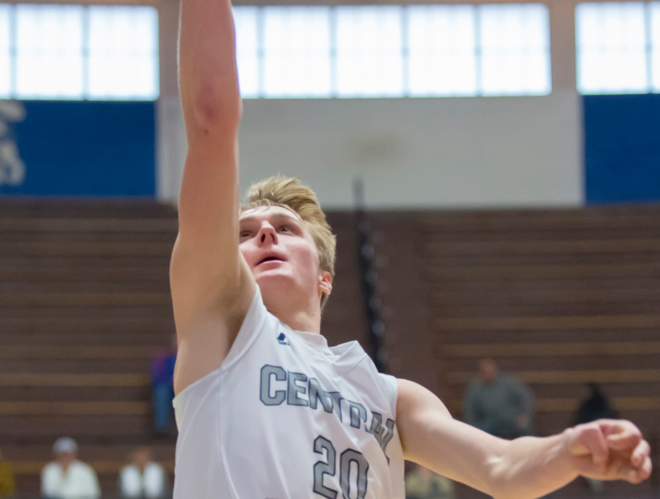 Action from the first round of the Regional between Central Catholic and Randolph Southern from Case Arena on 3/9/19 - David Schwartz