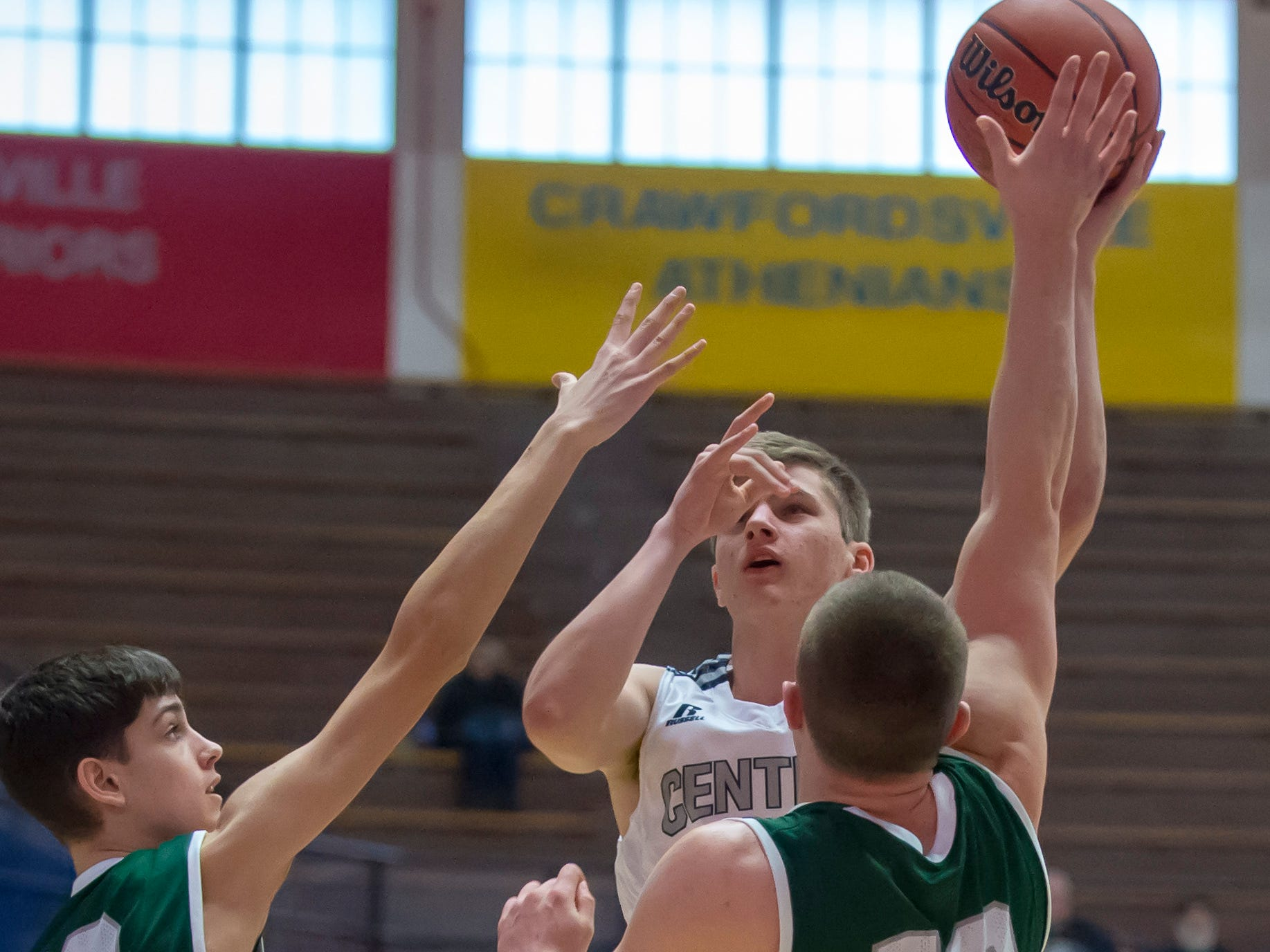 Action from the first round of the Regional between Central Catholic and Randolph Southern from Case Arena on 3/9/19 - Kyle Onken