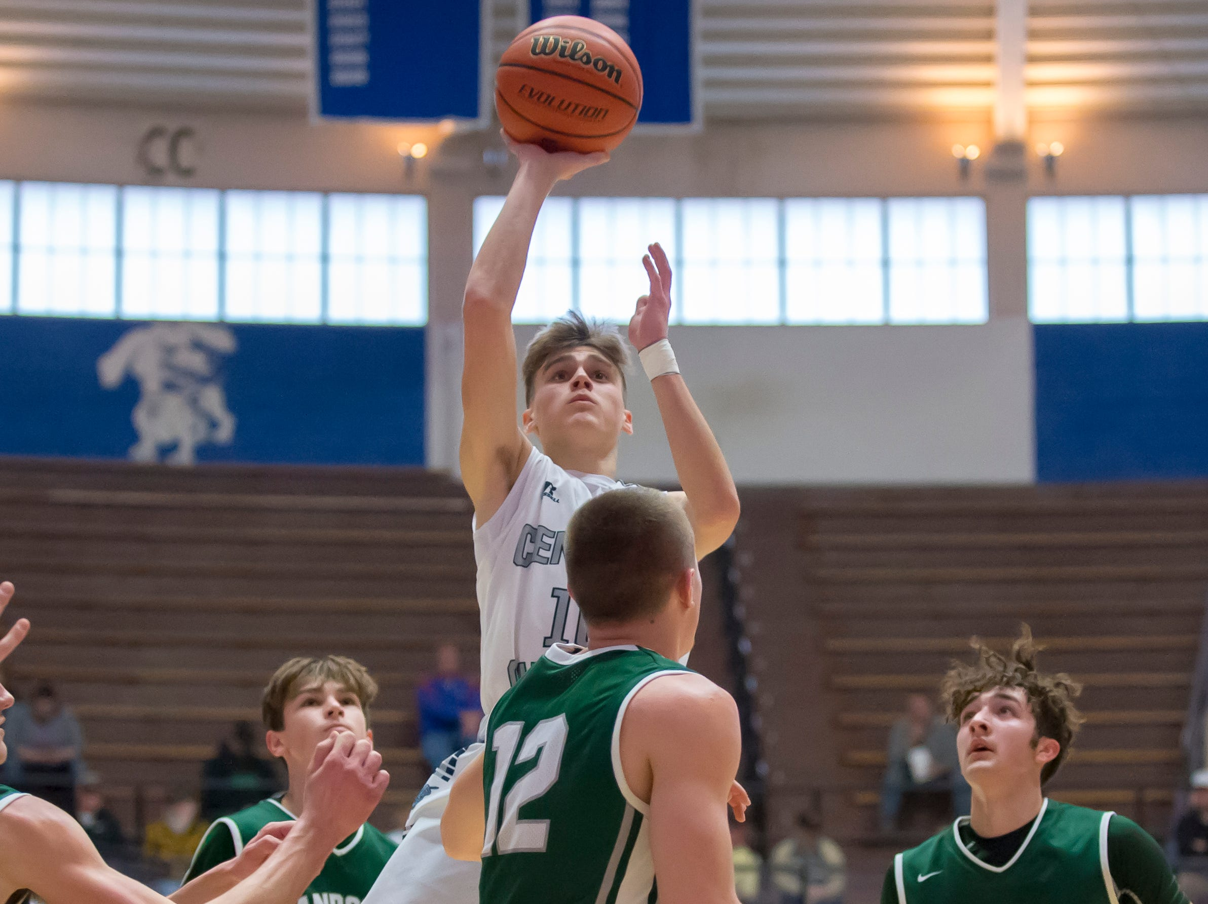 Action from the first round of the Regional between Central Catholic and Randolph Southern from Case Arena on 3/9/19 - Brenner Oliver