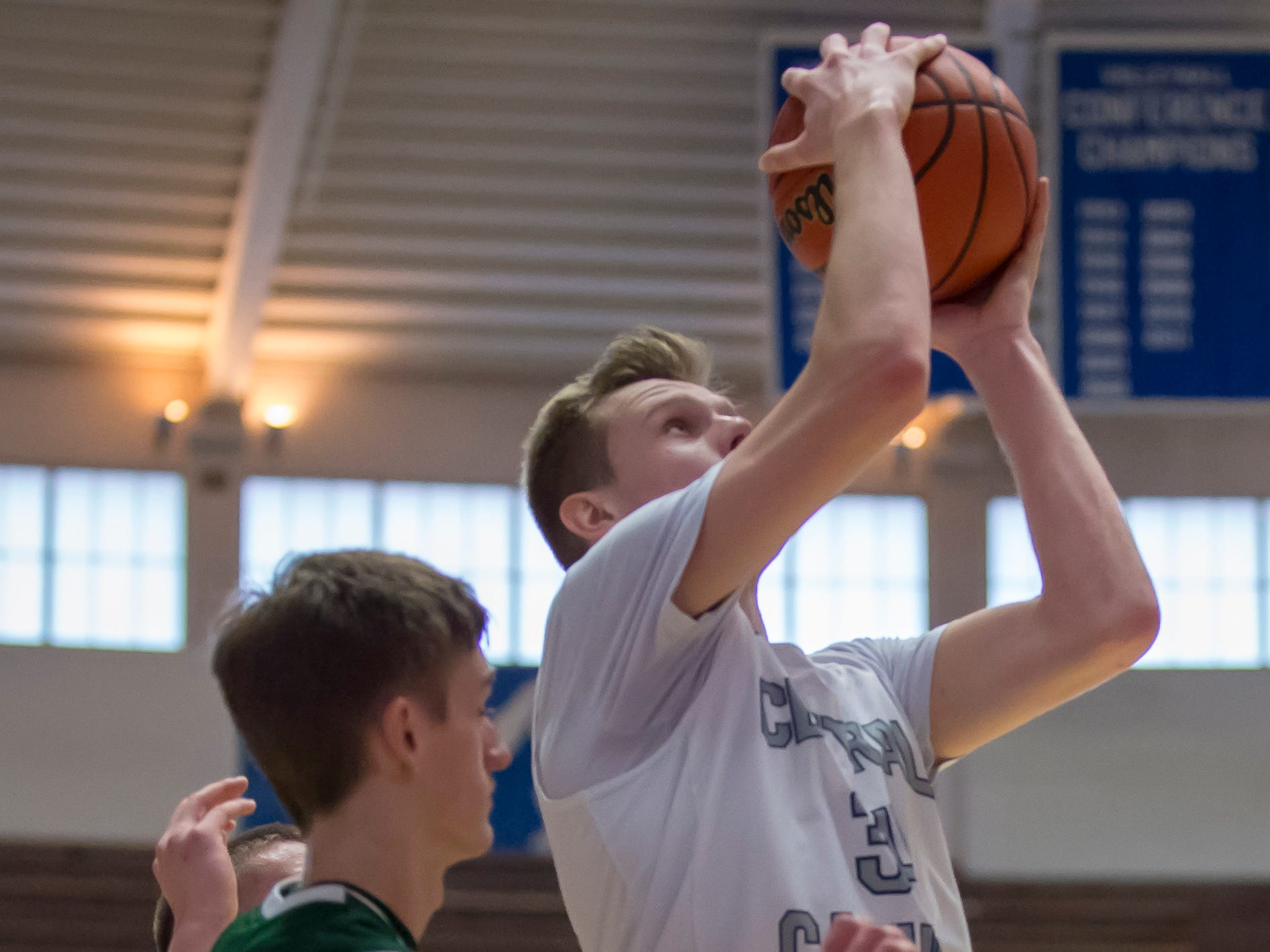 Action from the first round of the Regional between Central Catholic and Randolph Southern from Case Arena on 3/9/19 - Carson Barrett