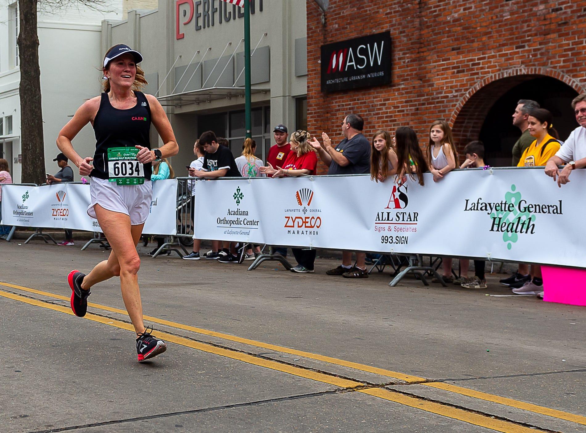 The Zydeco Marathon in Lafayette, LA.  March 10, 2019.