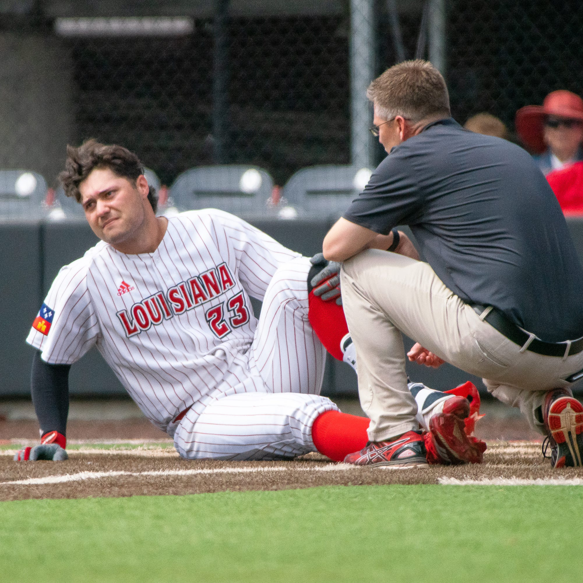 Cajuns catcher Monica not ready to rest his case just yet
