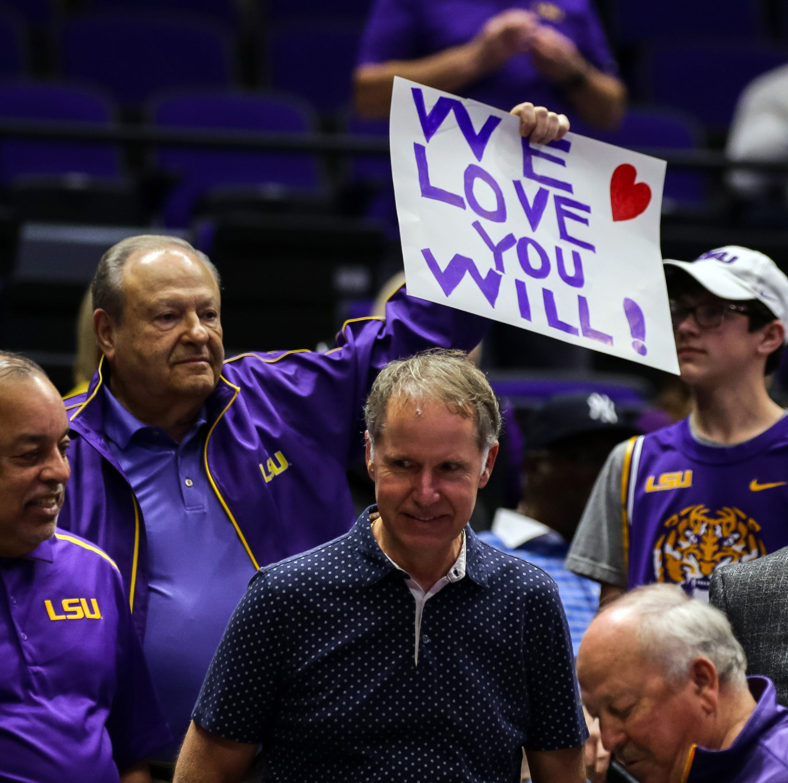 'Door is open' for suspended LSU coach to take first step to reinstatement, but he has not