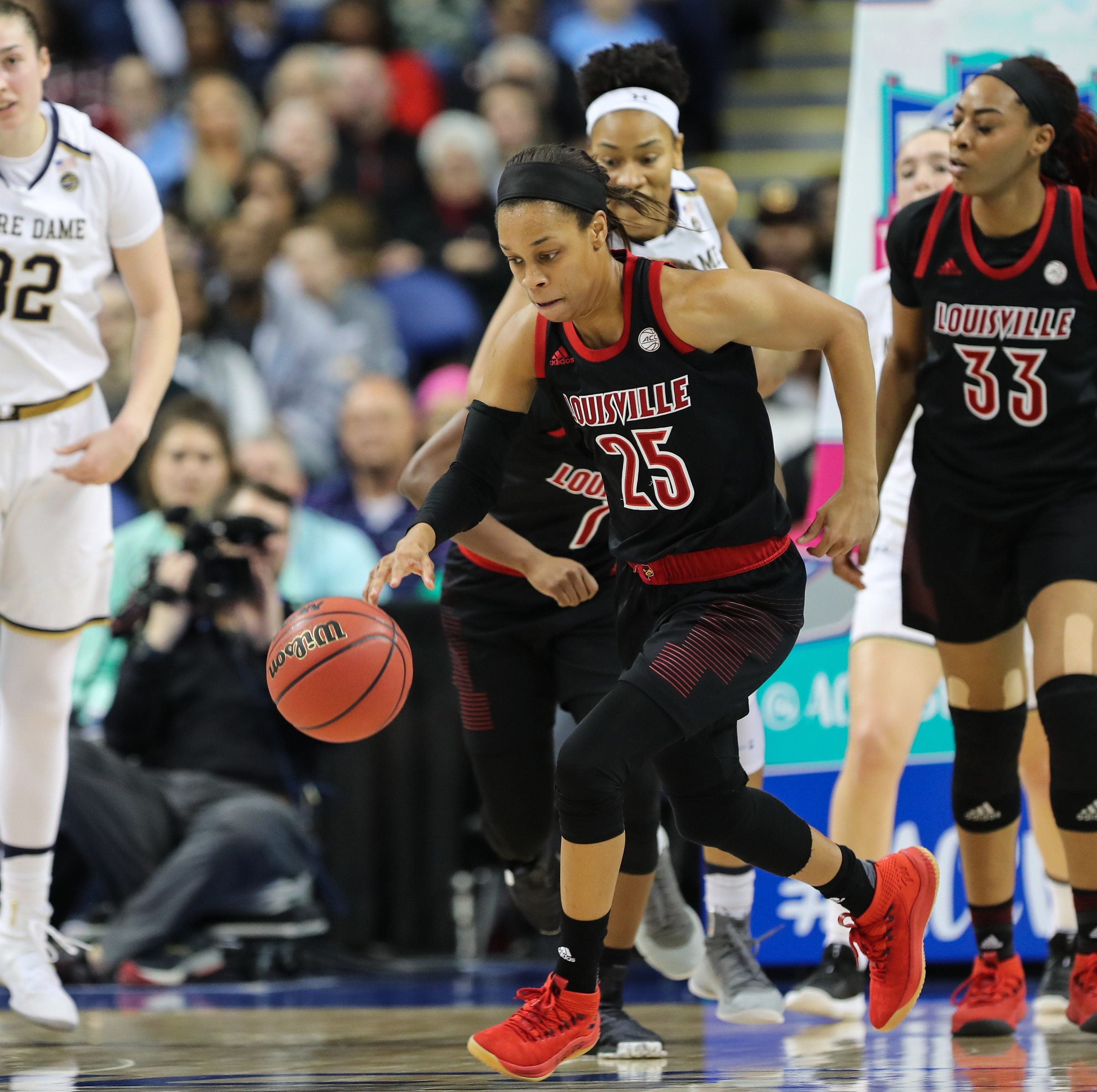 Leaked NCAA women's tournament bracket shows Louisville as a No. 1 seed