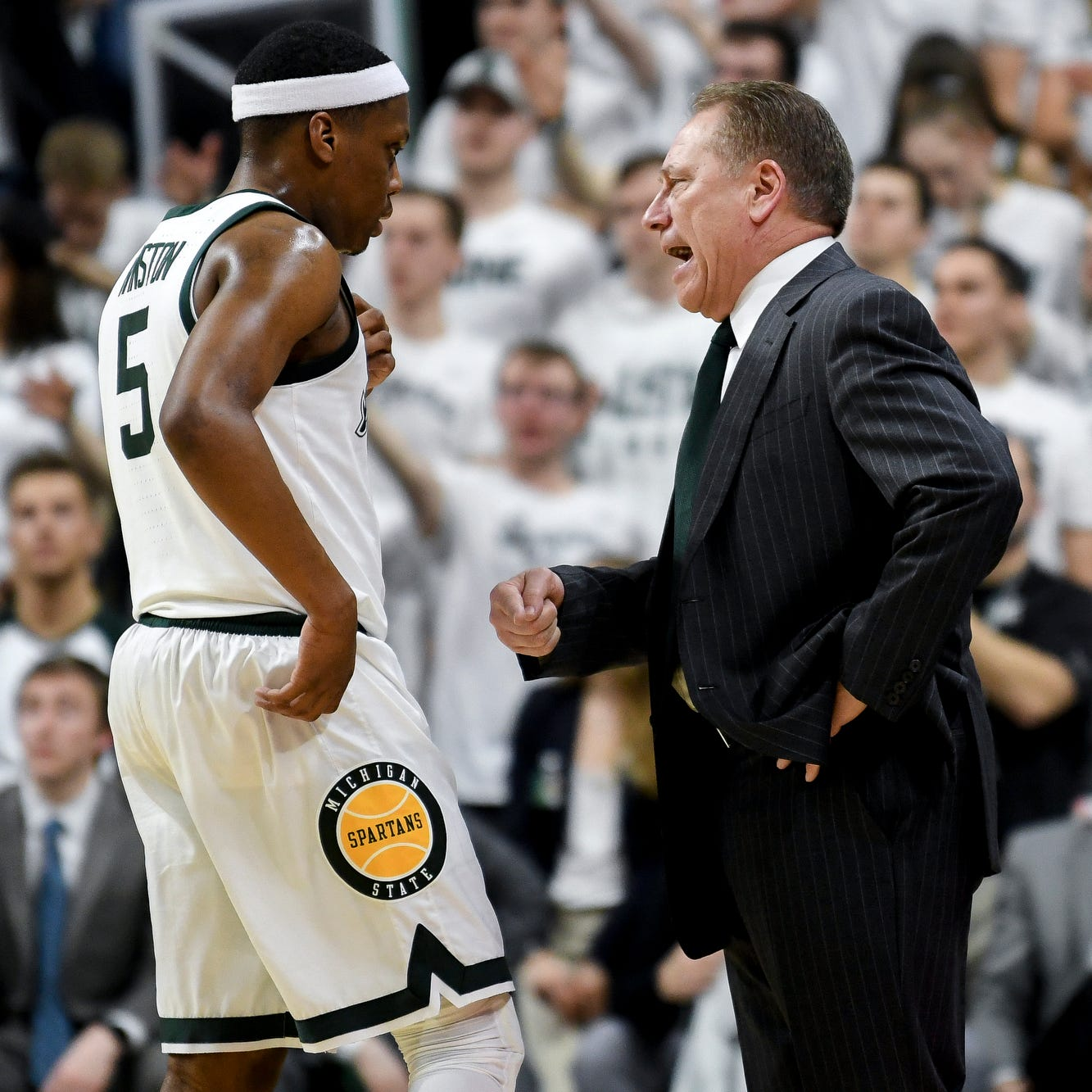 Michigan State's Tom Izzo reminds us again why we shouldn't doubt him