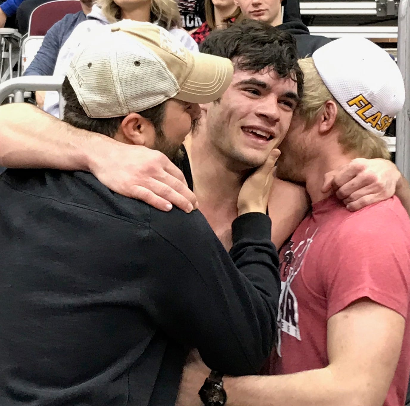 State champs: Bever, Becker cap storybook season on mats