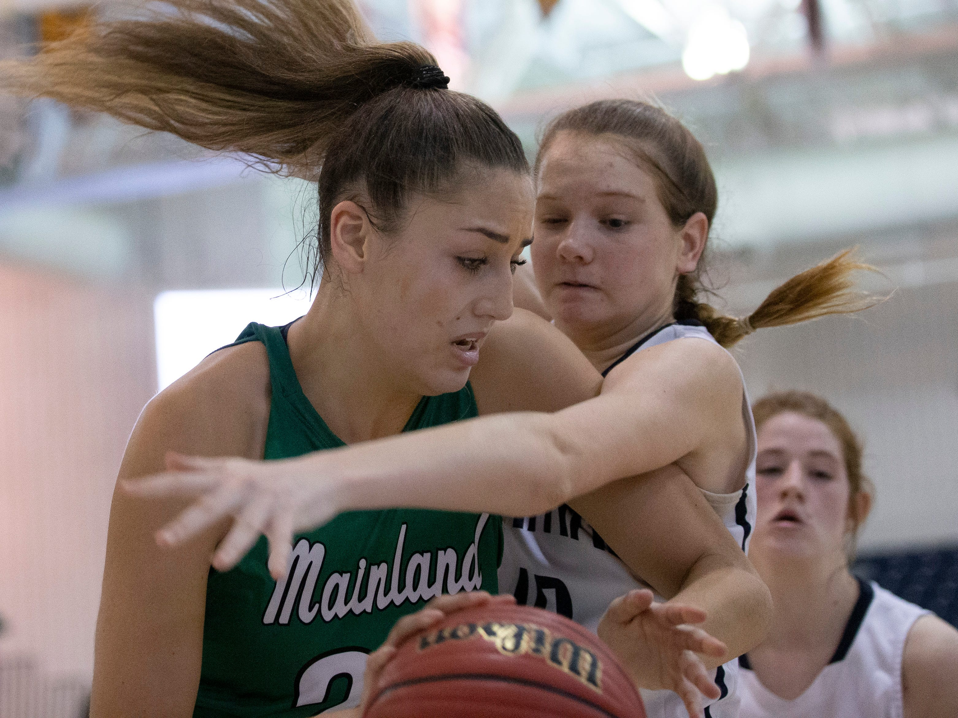 Chatham Girls Basketball vs Mainland in Girls Group III Final in Toms River on March 10, 2019.