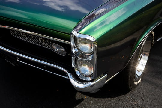 A show featuring cars - possibly like this jade 1967 Pontiac GTO - is Saturday at Ave Maria as part of the Blues, Brews & BBQ Festival from 12:30 to 5:30 p.m. Also enjoy food, beer, bands and more.
