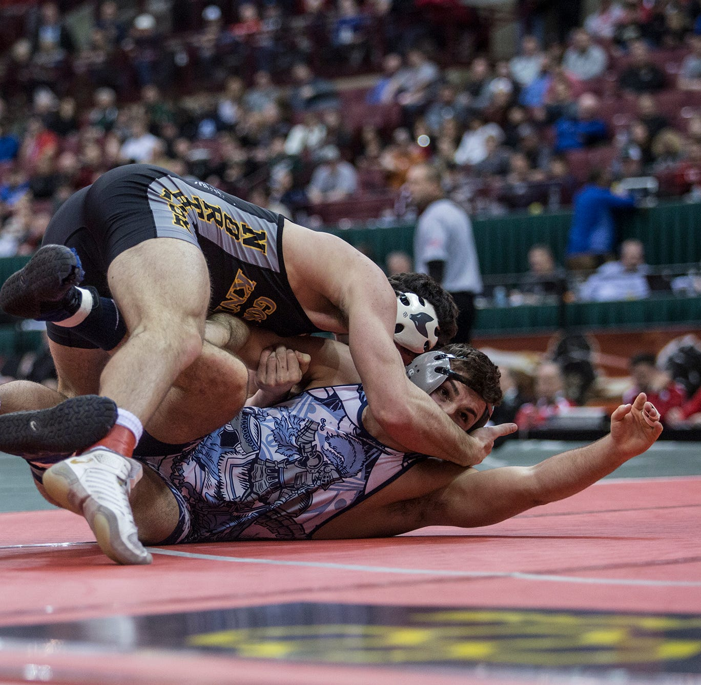 Northmor's Conor Becker wrestles his way to state championship