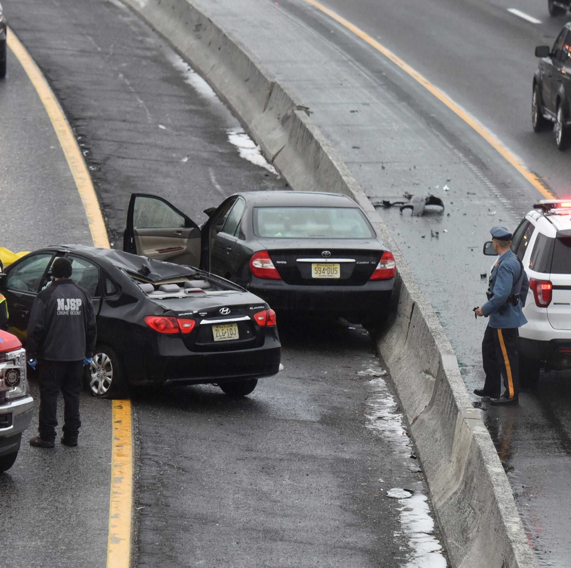 Route 80 crash in Paterson leaves two people dead
