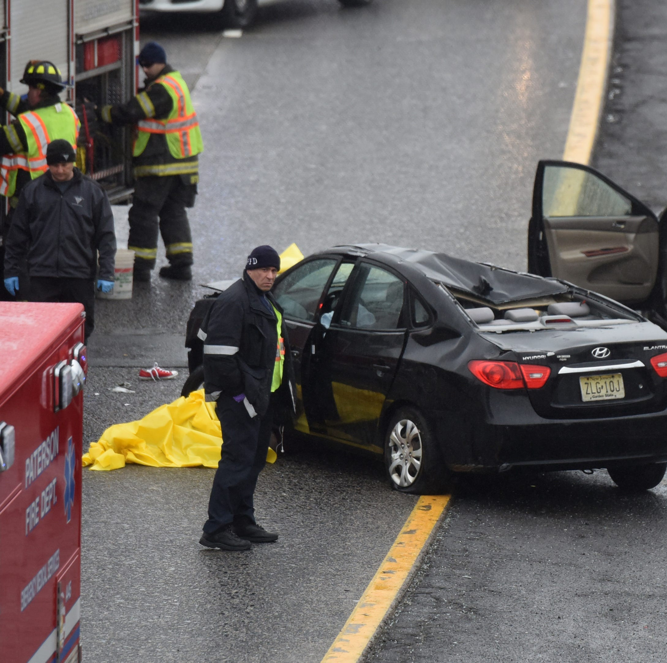 State police identify pair killed on Route 80 in Paterson