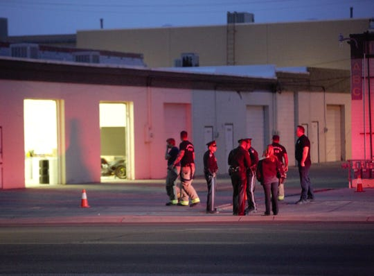 Several agencies, including New Mexico State Police and the Las Cruces Fire Department, responded to a report of an explosion and hazardous materials situation on Saturday, March 9, 2019 on Hadley Avenue.