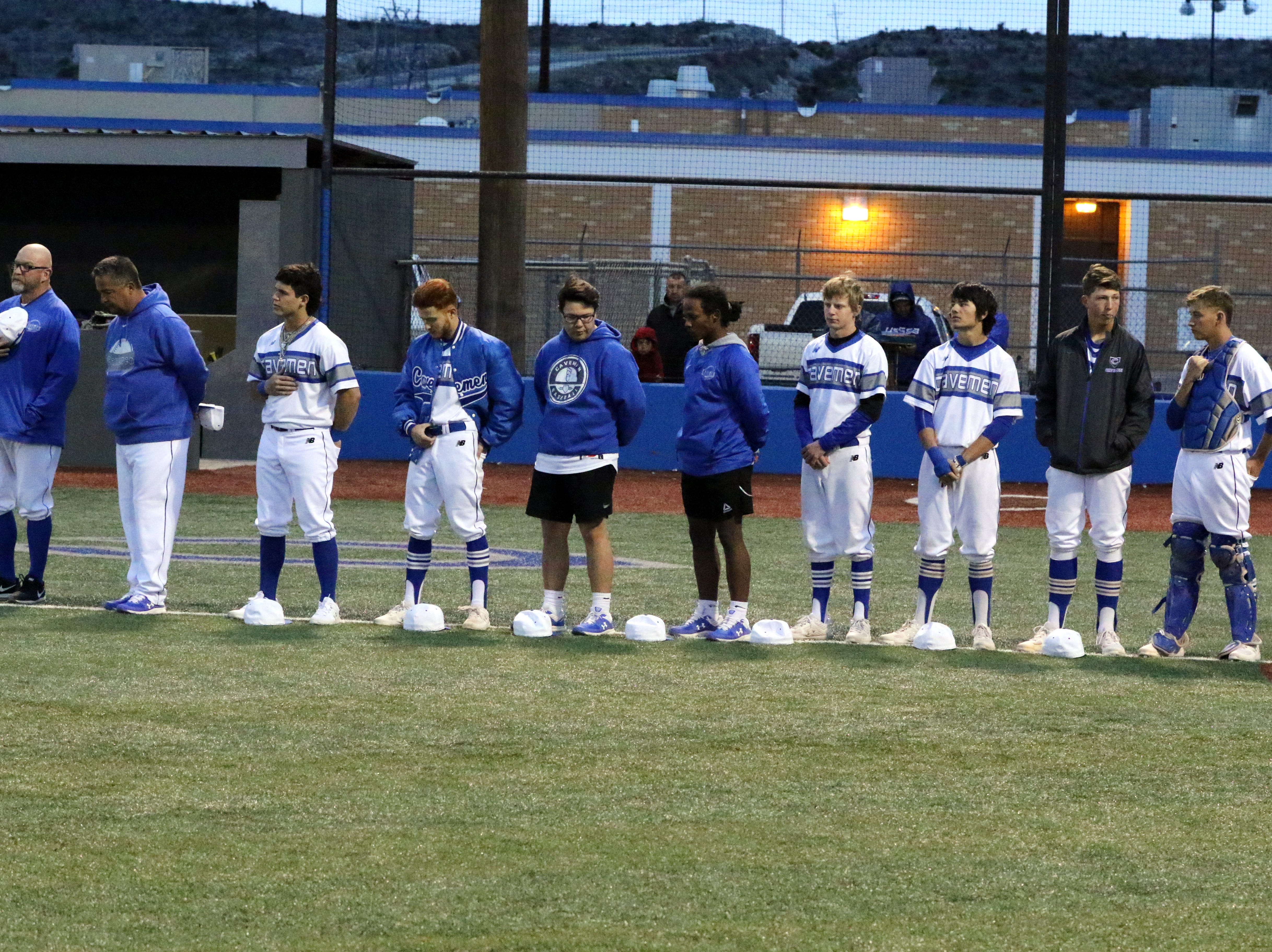 Photo highlights from the pregame to the March 9 game between Carlsbad and Artesia. Artesia won, 3-2.