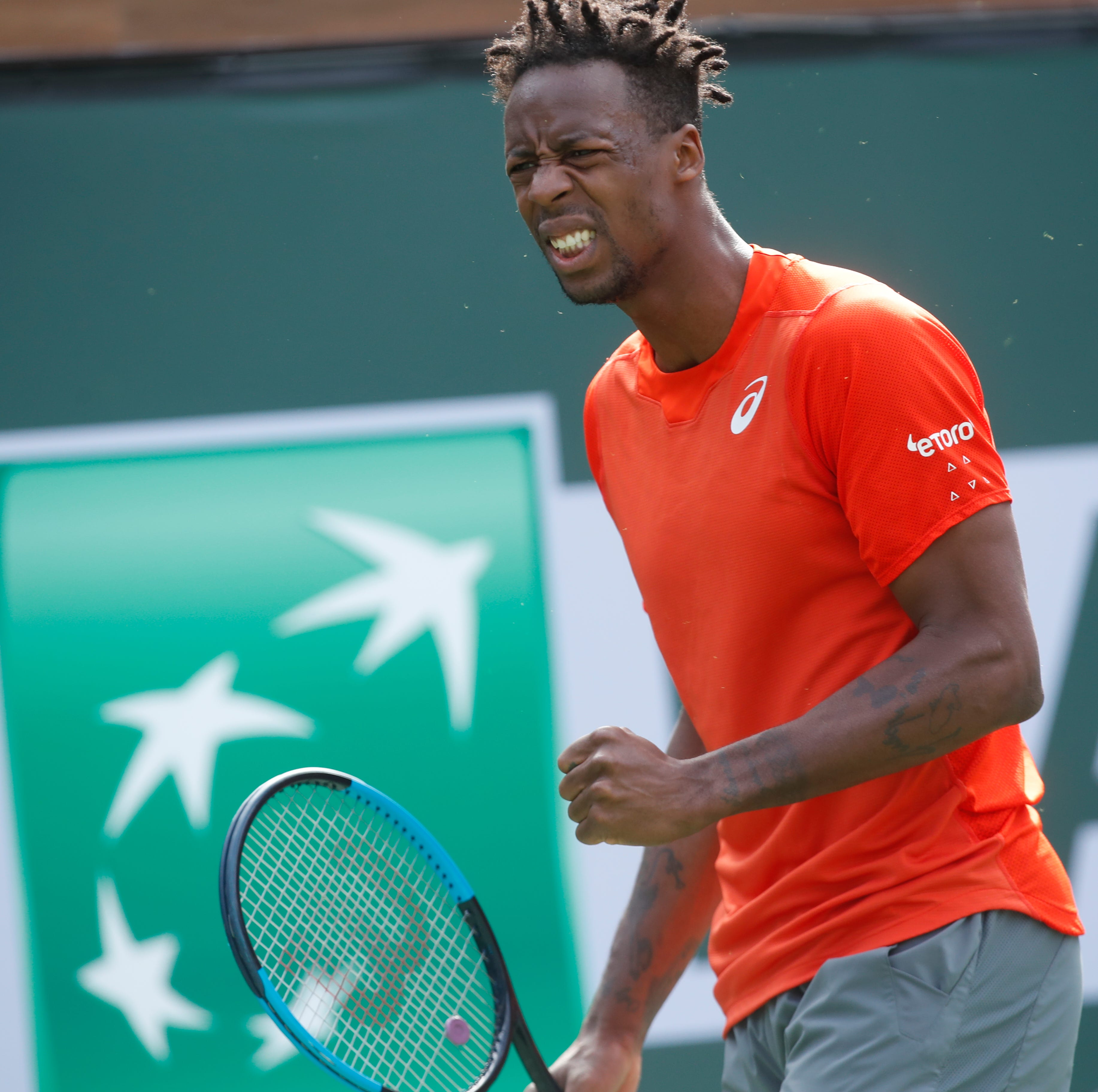 Injury forces Gael Monfils to withdraw from BNP Paribas Open prior to match