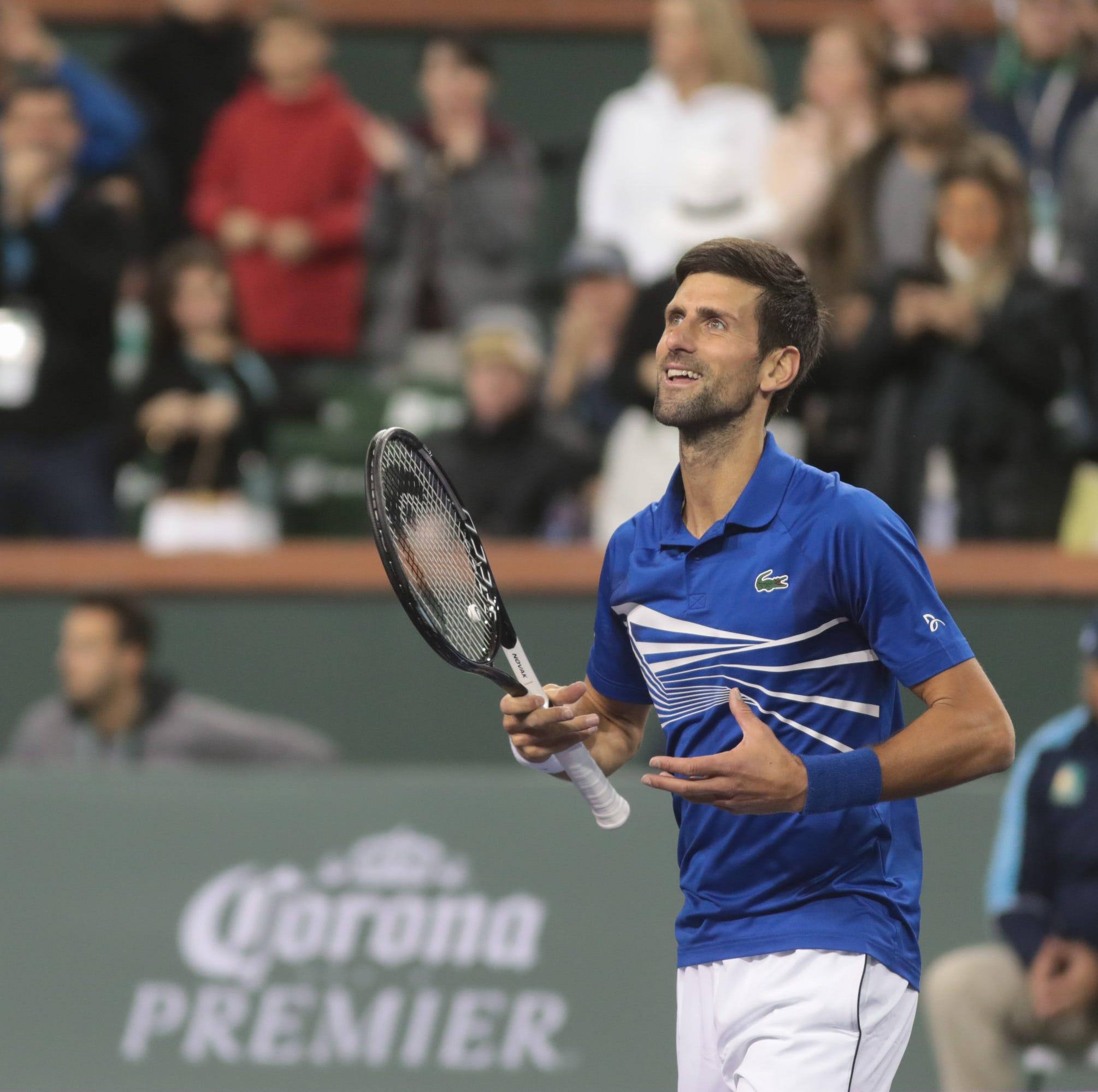 Novak Djokovic fights through opponent, case of deja vu to advance