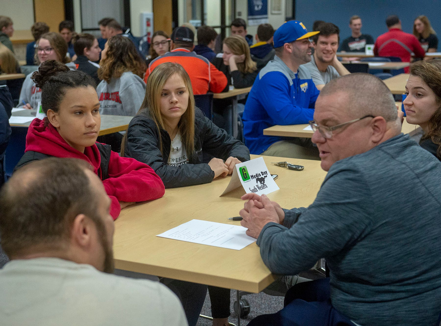 YAIAA spring coaches and players had a chance to talk with GameTimePA reporters at Media Day on Sunday, March 10, 2019.