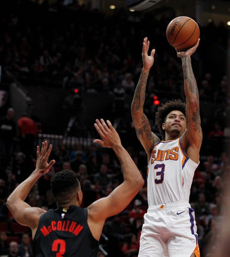 Portland Blazers 2019: Phoenix Suns To Re-sign Kelly Oubre Jr. To Two-year Deal
