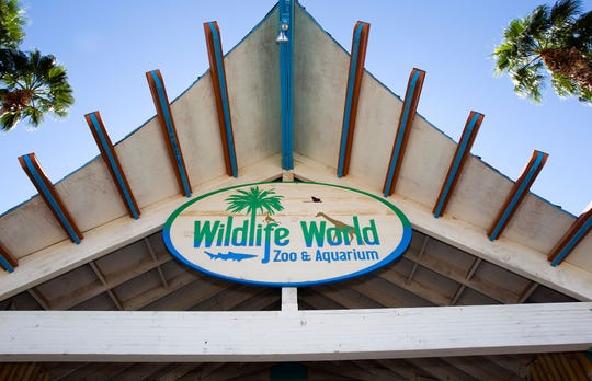 Wildlife World Zoo, Aquarium and Safari Park in Litchfield Park, Arizona. A woman was attacked by a jaguar at the zoo Saturday, March 9, 2019.