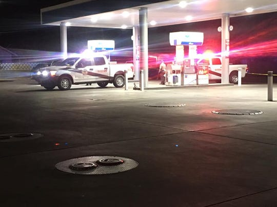Yuma County sheriff's deputies are investigating the deadly shooting of a man in a vehicle at a Yuma gas station early Friday morning.