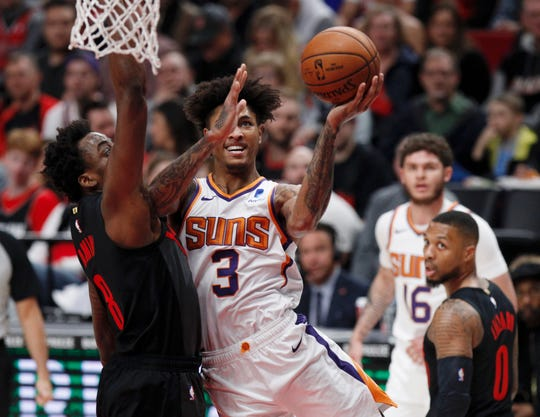 Kelly Oubre Jr. averaged 16.9 points per game during his 40 game run with the Suns.