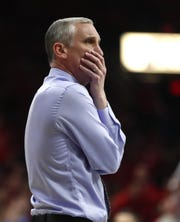 Arizona State head basketball coach Bobby Hurley.