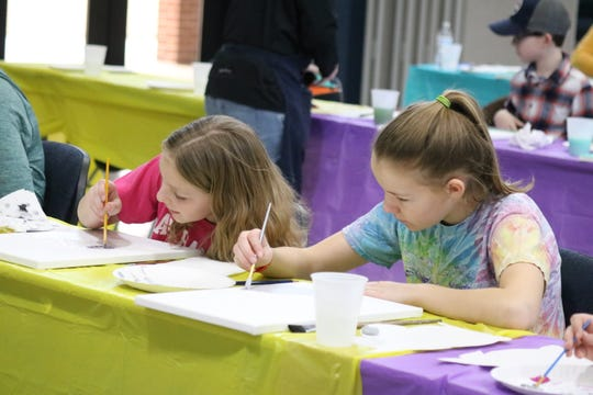 "The Ottawa County Board of Developmental Disabilities organized the ""Side by Side"" art class to celebrate National Developmental Disabilities Awareness Month."