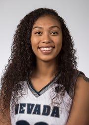 Nevada senior Tera Briggs was named the Mountain West team.