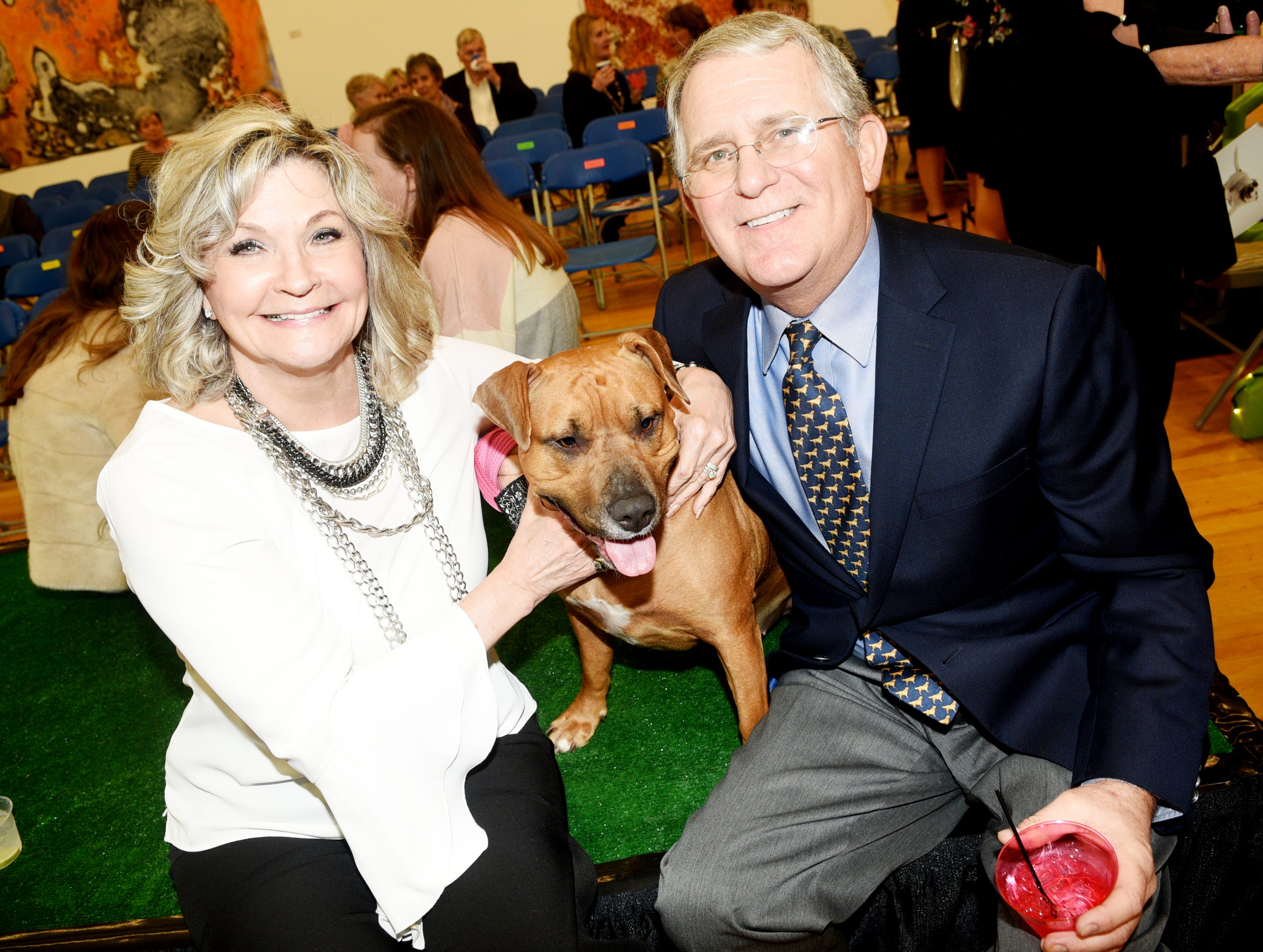 Best in Sheaux,  'Art of the Dog' hosted by Robinson's Rescue Low Cost Spay/Neuter Saturday evening at the Marlene Yu Museum.
