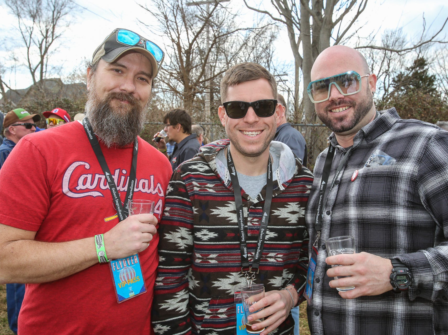 Tucker Ideker, Zack Owens and Mike Gillispie
