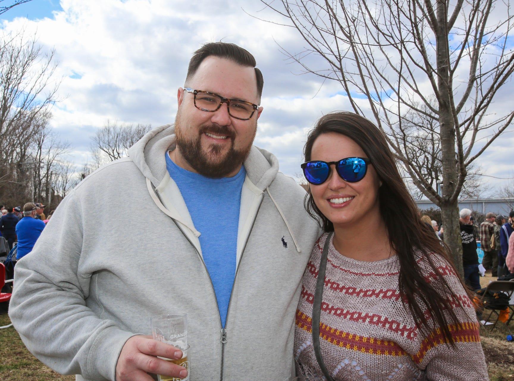 Travis Roller and Erica Jones