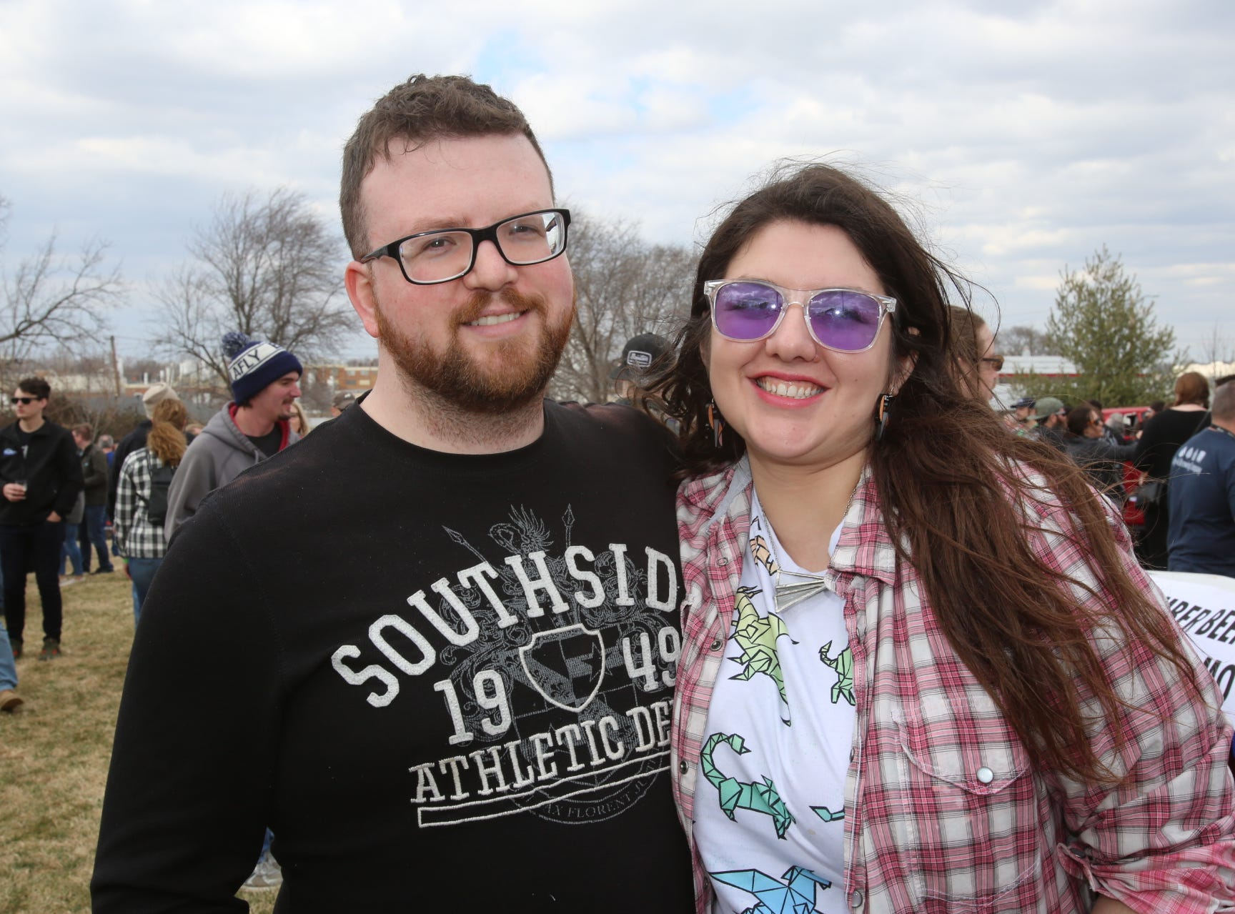 Matthew Busnell and Colleen Gilday