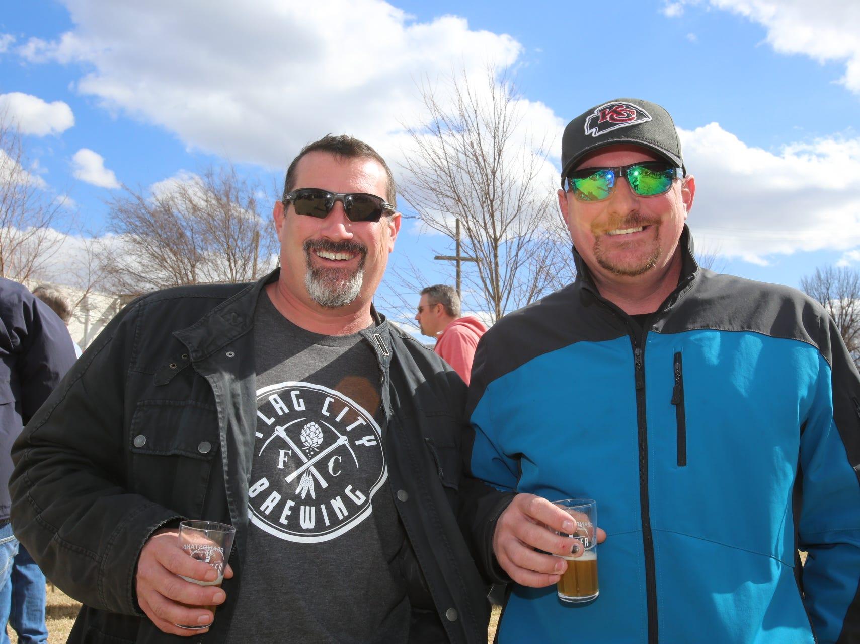 Jeremy and Bryan Higdon