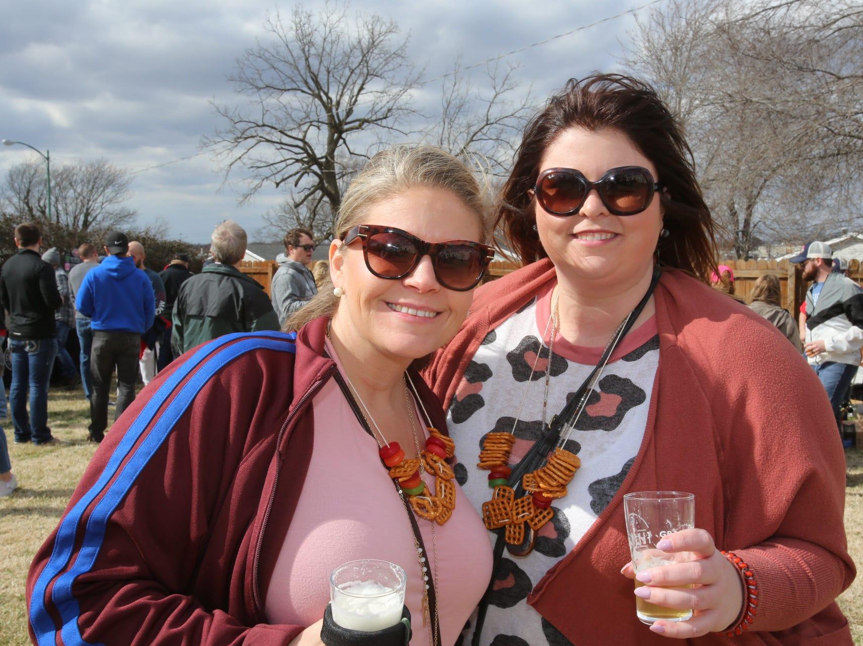 Brenda Calks and Lindsay Shelton