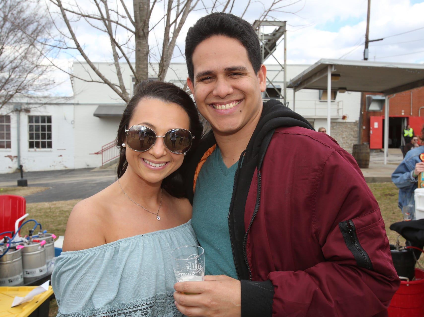 Victoria Cortez and Pedro Vega