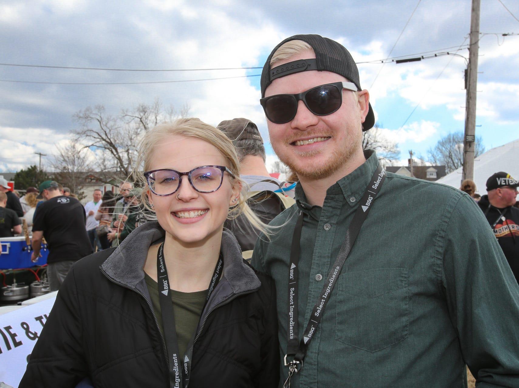 Emma Schupbach and Dylan Corbett