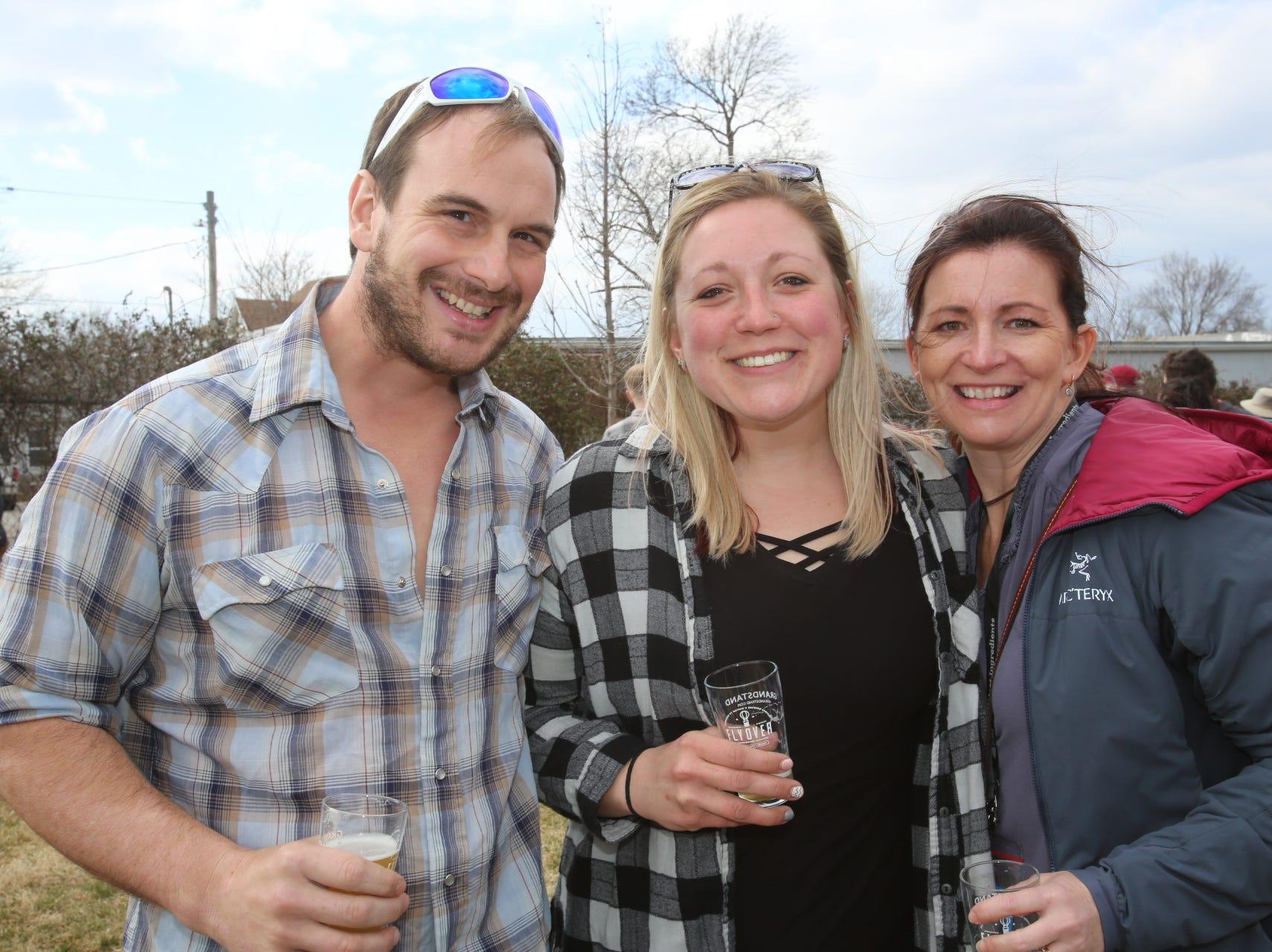 Tom and Nikki Schmitt and Amy Lahue