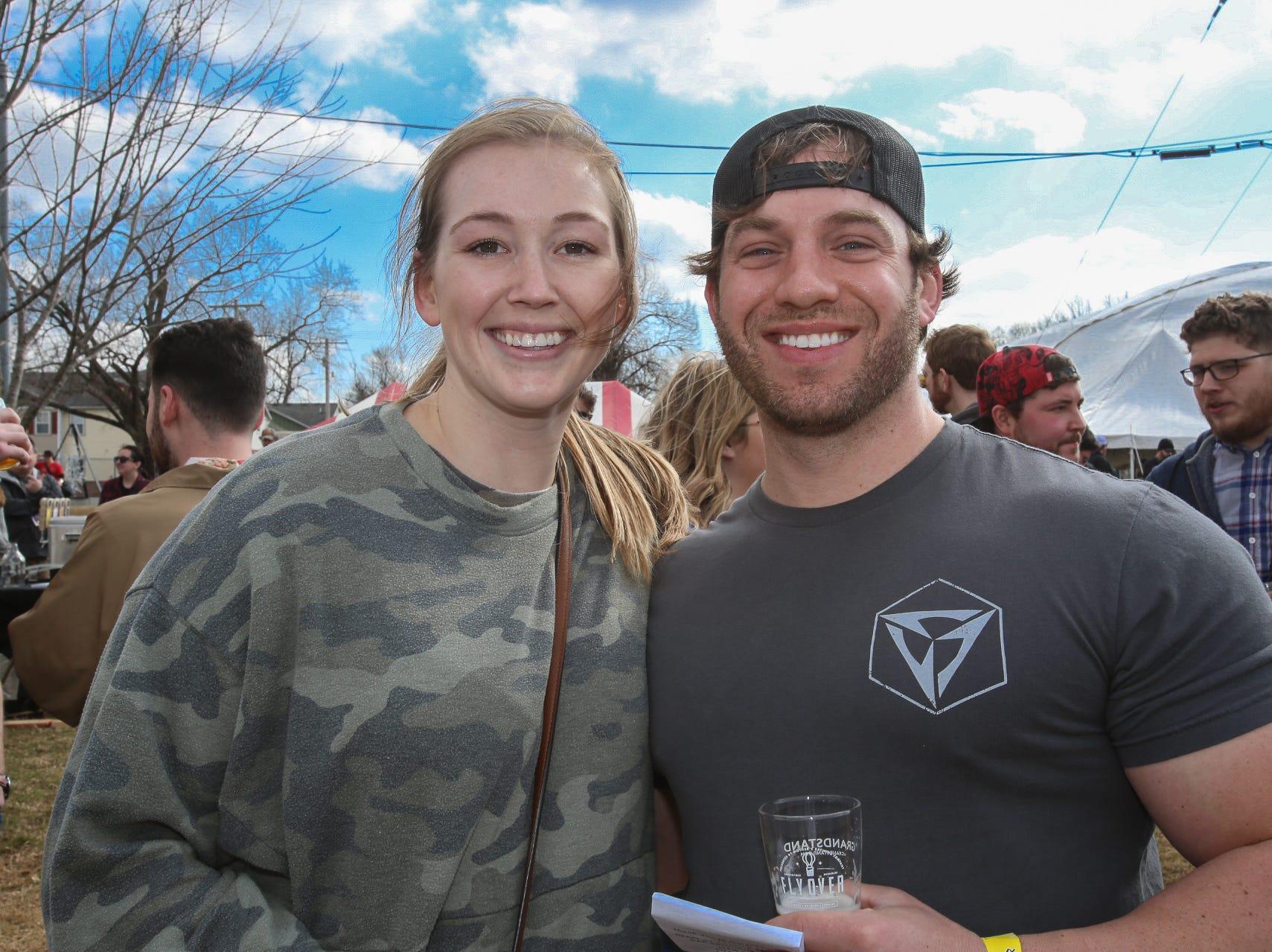 Emily Rathburn and Josh Blumer