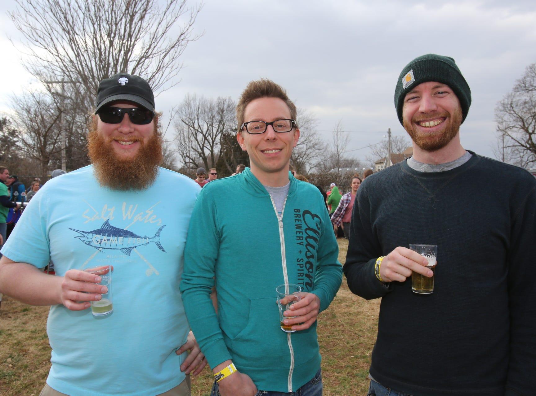 Ron Recklein, Josh Hellman and Ben Alexander