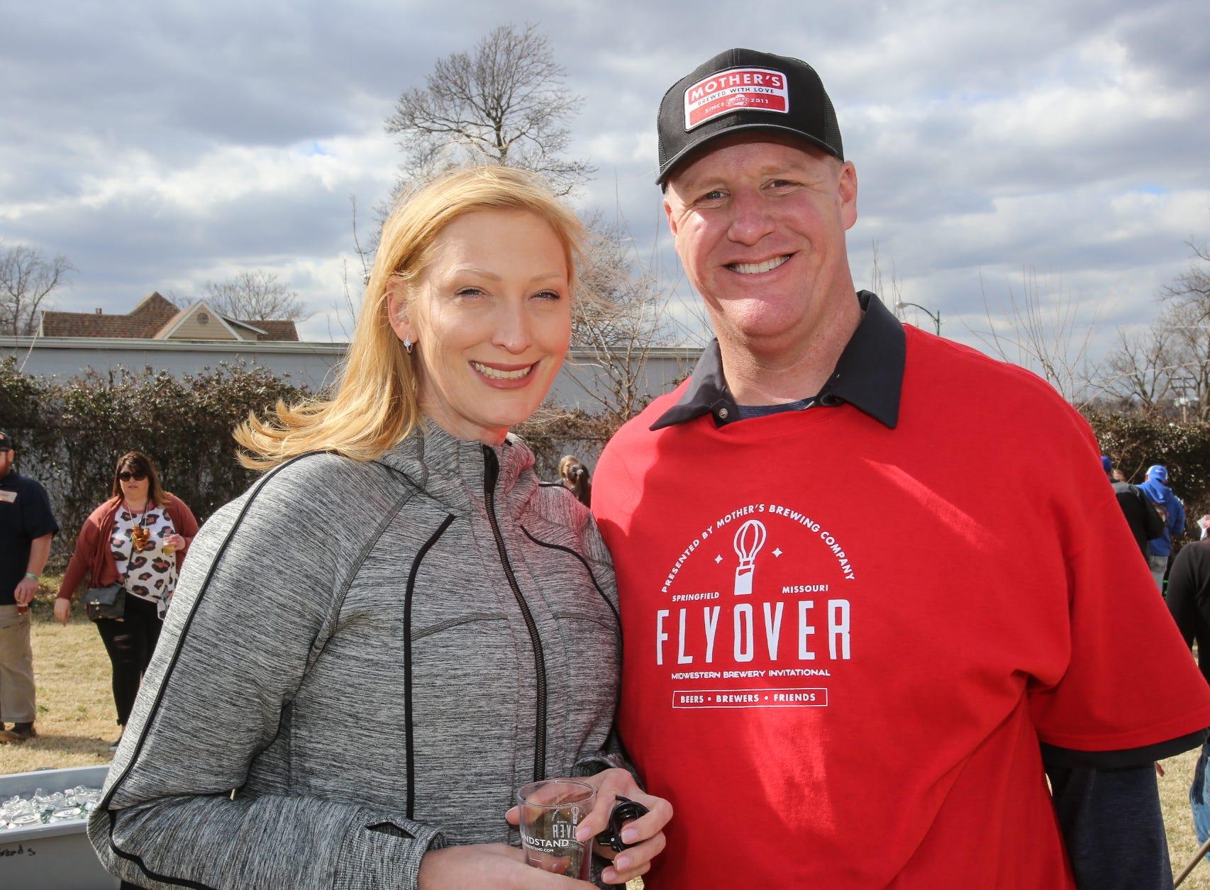 Tammy Swendarski and Jeff Abbott