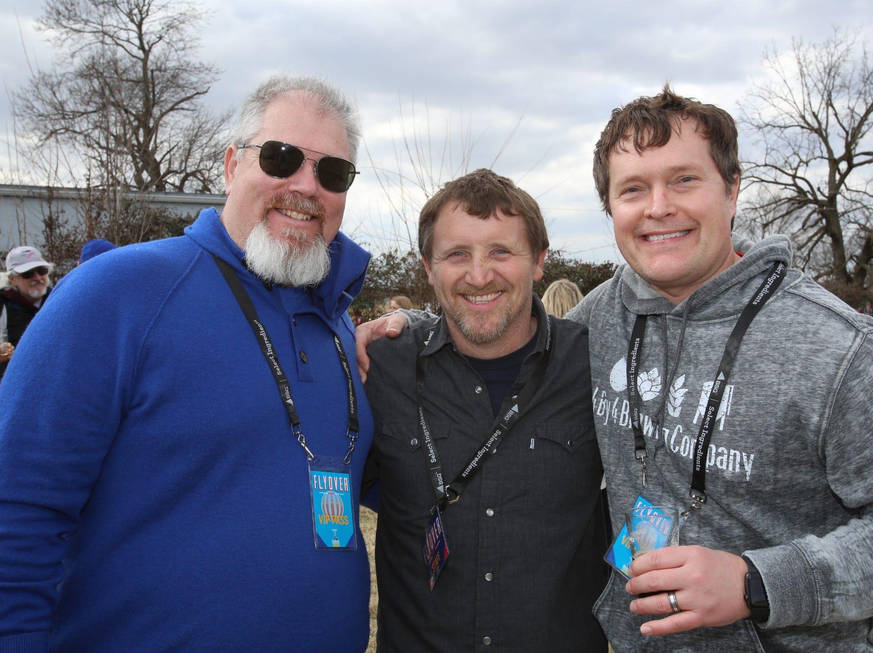 Eric Smith, Dallas Jones, and Joe Laflen