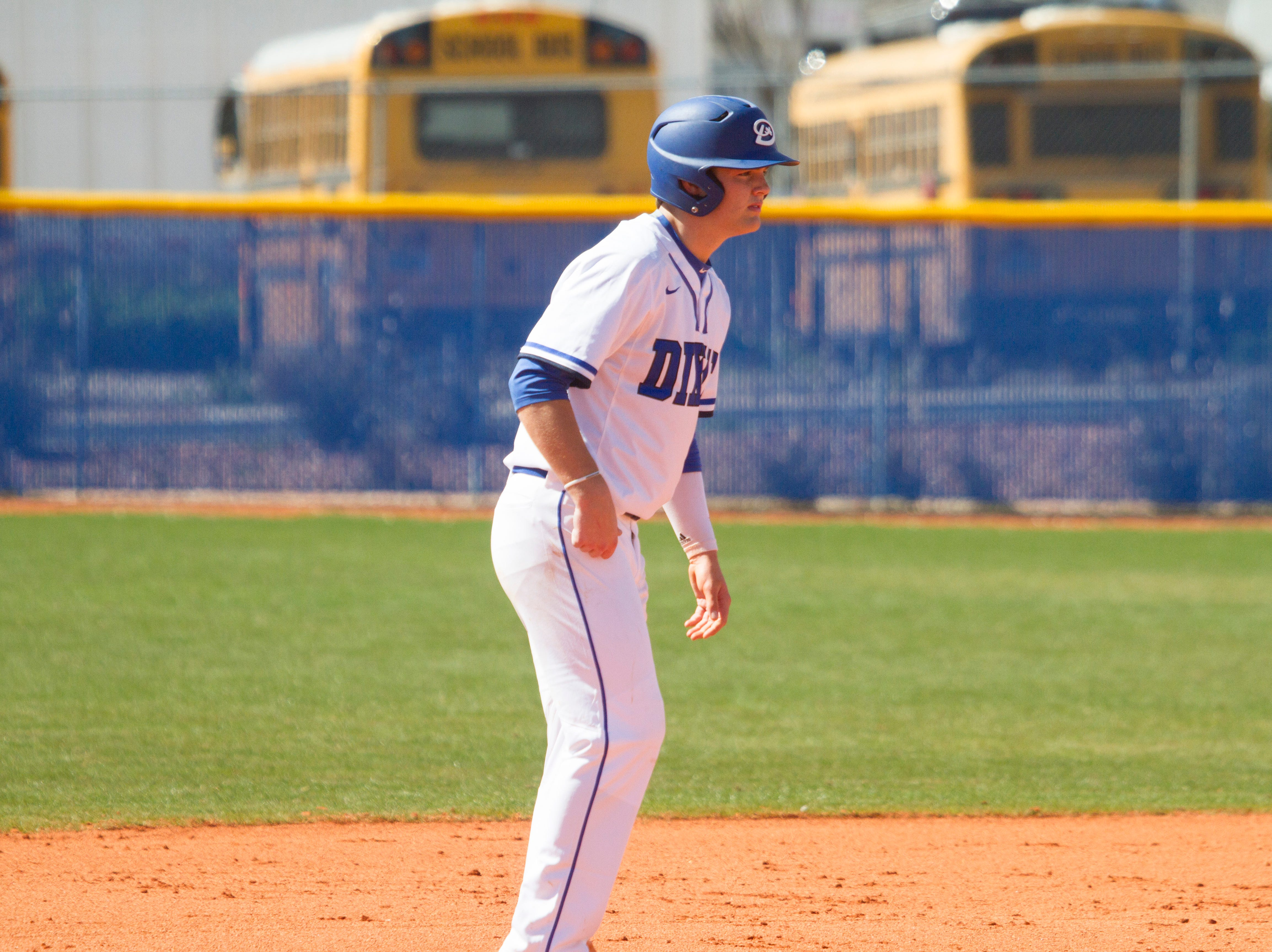 Dixie High baseball defeats the Payson Lions Saturday, March 9, 2019.