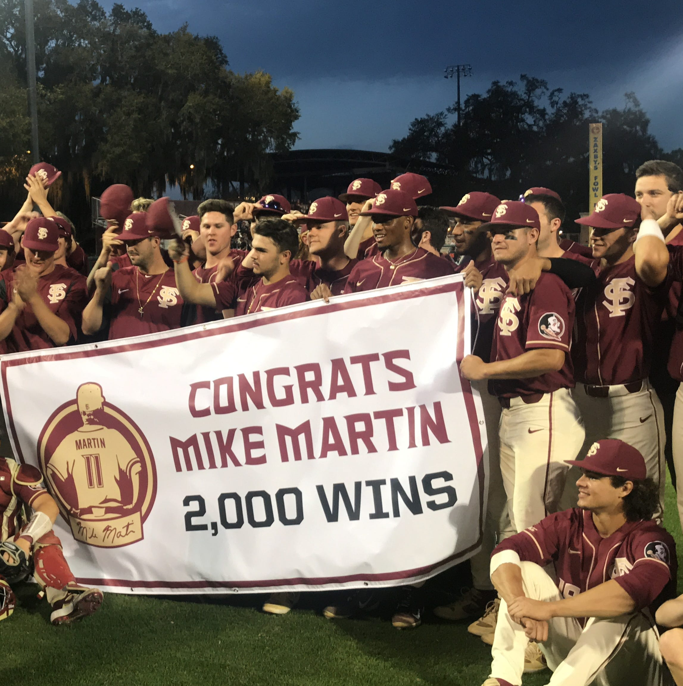 Florida State splits doubleheader against Virginia Tech as Mike Martin reaches 2,000 wins