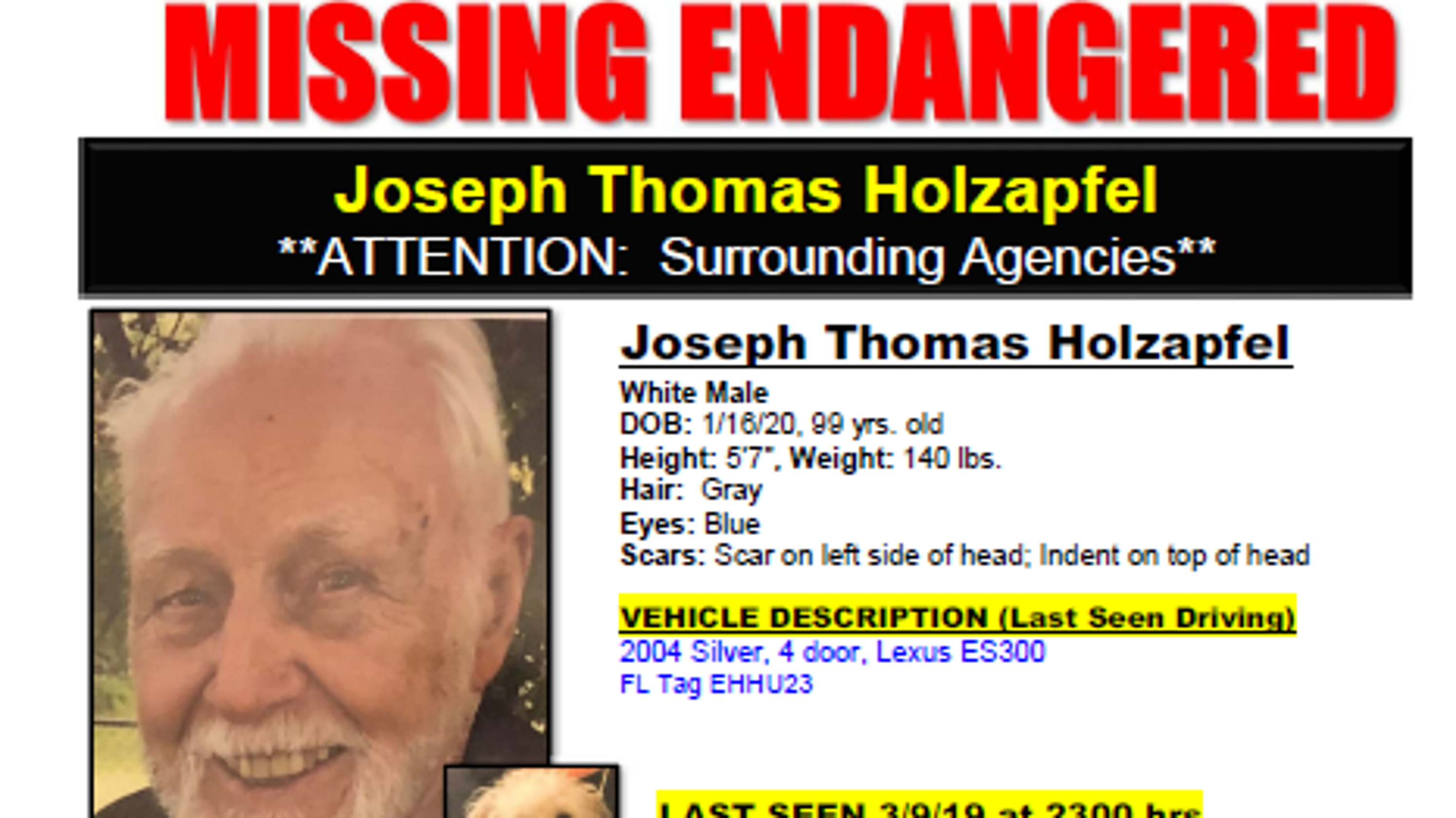 99-year-old with dementia found after going missing in Port St  Lucie