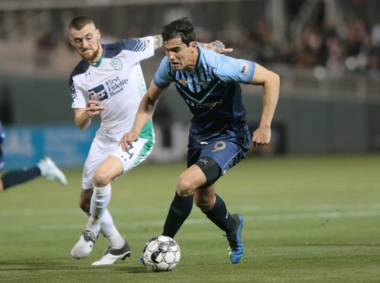 The El Paso Locomotive opened their season March 9 against the Oklahoma City Energy at Southwest University Park.