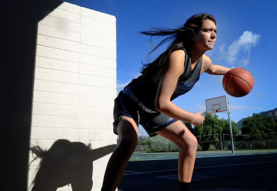 Alyssa Marin took over the point guard duties for Camarillo in her junior year — and was a top-level distributor while remaining a sharpshooting scorer.