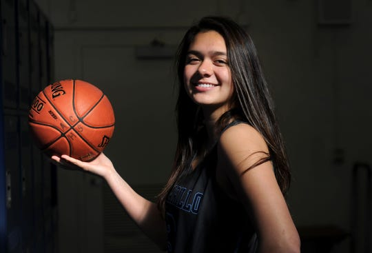 Alyssa Marin led Camarillo to its eighth straight league title, averaging 18.3 points per game in her junior season.