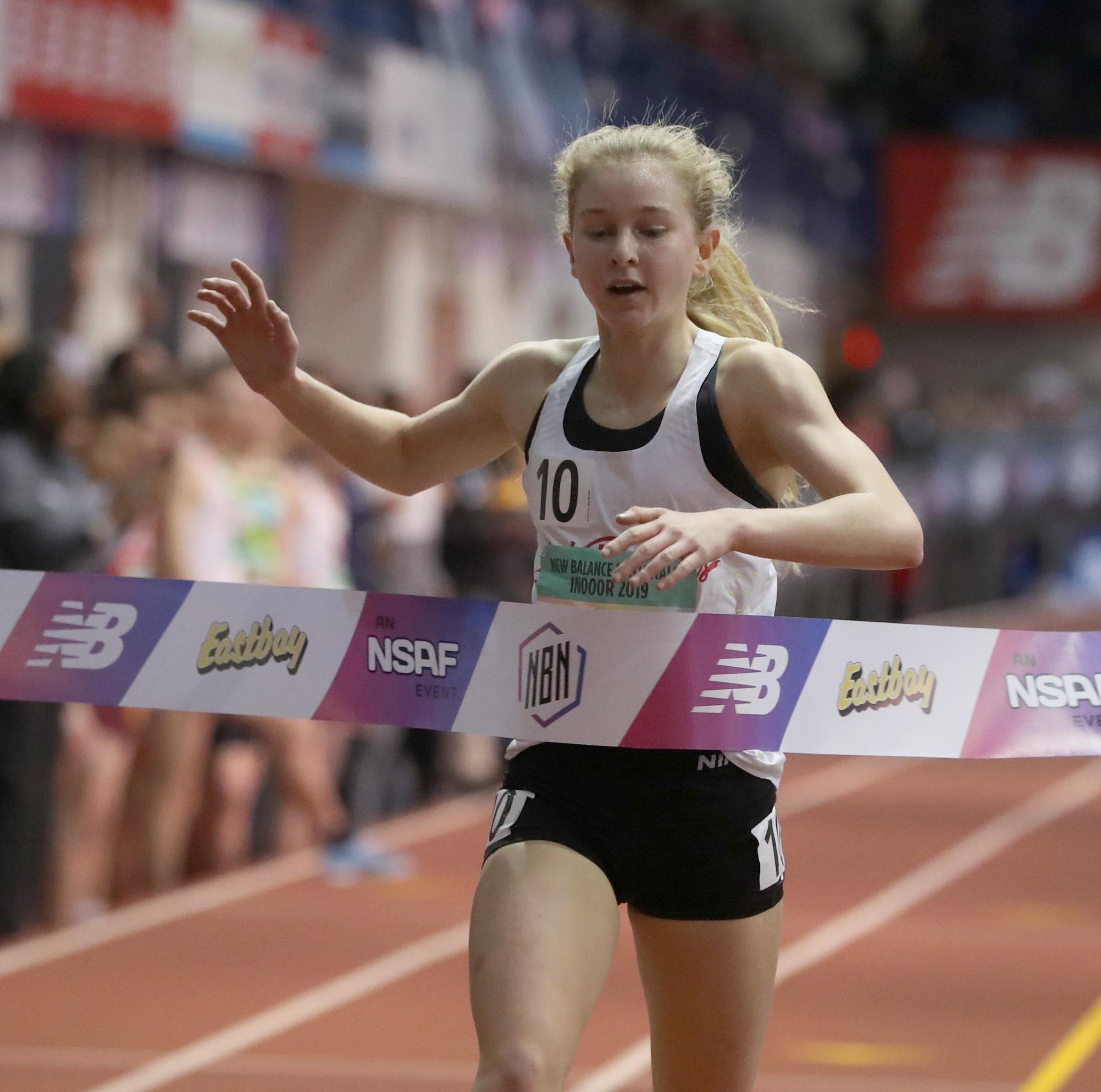 Katelyn Tuohy intends to run for North Rockland as senior and fit in pro races toward Olympic Trials