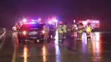 Raw Video: Man hit by 3 cars on I-495
