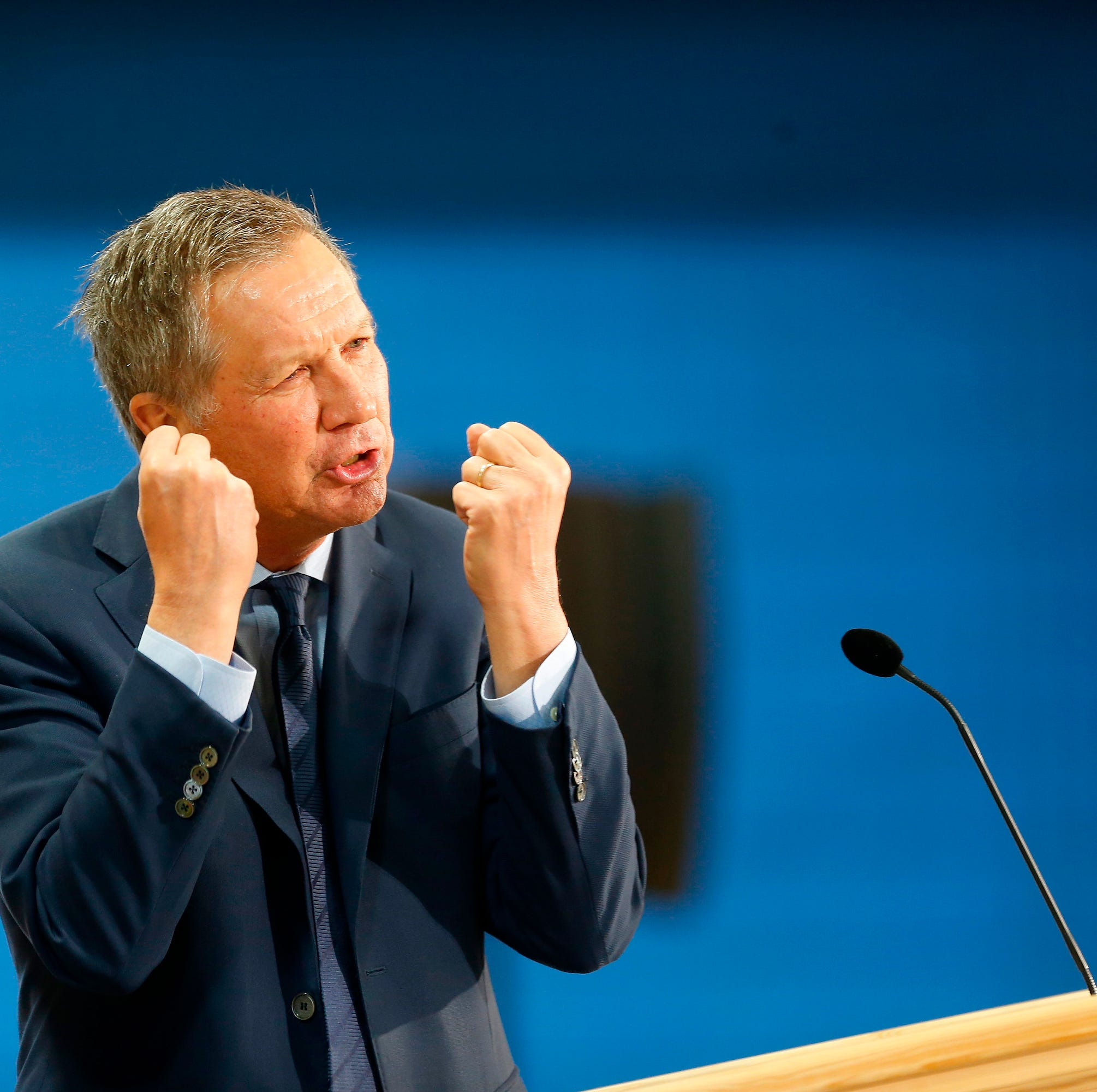 Kasich talks Trump, Christie, 2020 ahead of Drew University appearance